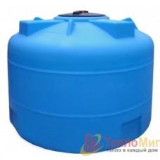 Анион Пластиковая емкость 1500 л с крышкой 380 мм 1500ВФК2