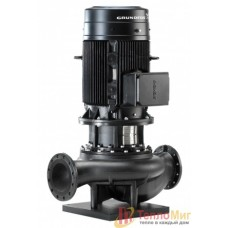 Grundfos (Грундфос) TP 65-340/2-A-F-A-BAQE 5.5кВт 3х400В, 2900об/мин DN65 PN16