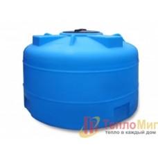 Анион Пластиковая емкость 2000 л с крышкой 380 мм 2002ВФК2